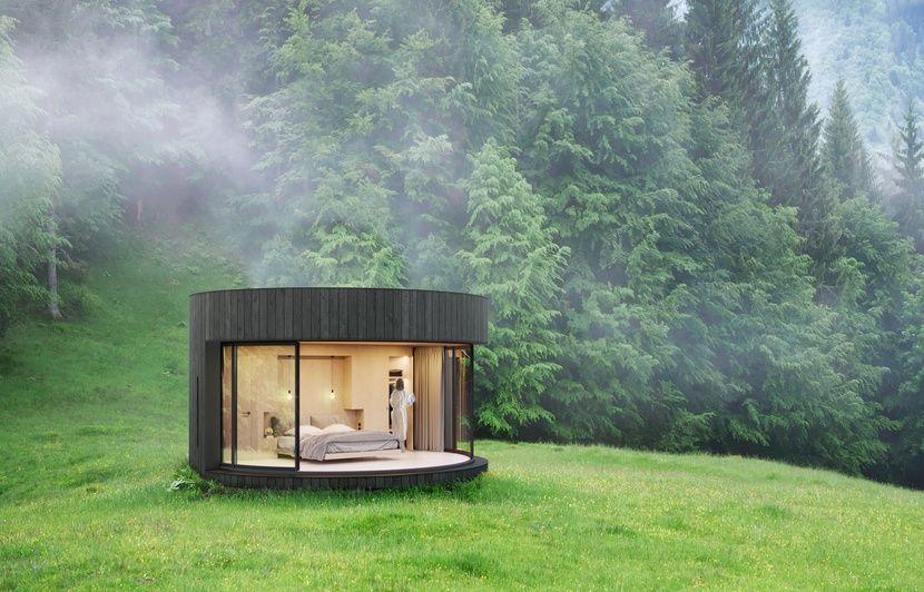 Lyon: Ils fabriquent des chambres aménagées à poser dans la nature