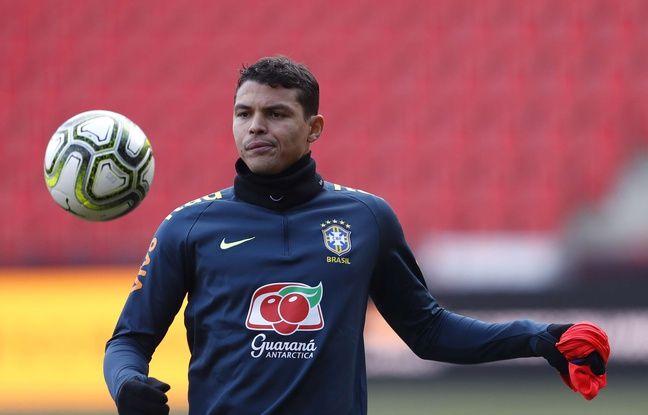 Le PSG confirme une arthroscopie pour Thiago Silva, incertain pour la Copa América