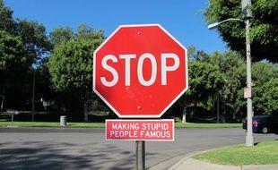 Illustration d'un panneau stop
