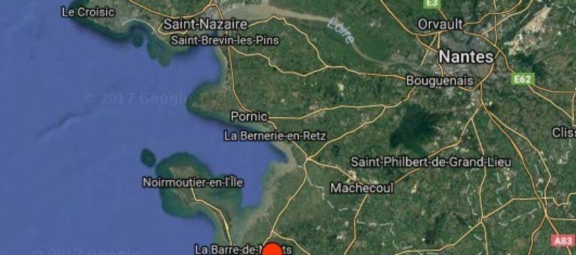 Un séisme a été enregistré cette nuit en Vendée
