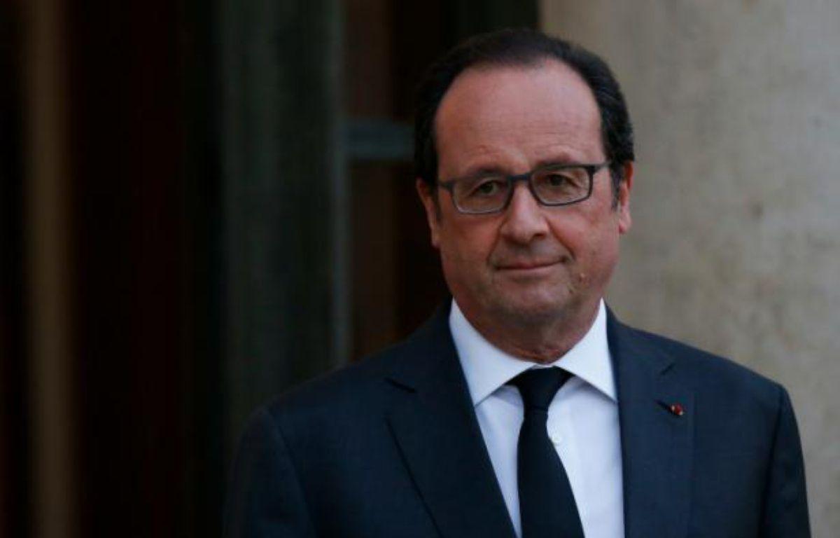 François Hollande le 13 avril 2016 à l'Elysée à Paris – THOMAS SAMSON AFP