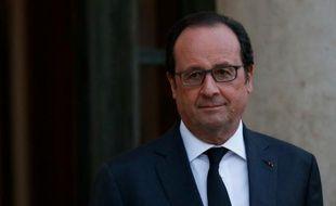 François Hollande le 13 avril 2016 à l'Elysée à Paris