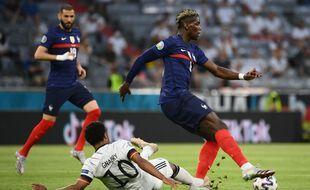 Paul Pogba, énorme ce mardi soir lors de France-Allemagne à Munich, pendant l'Euro 2021.