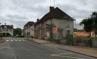 Le centre névralgique de Clairefontaine-en-Yvelines.