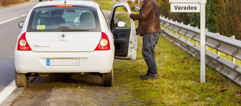 Auto-stoppeur (illustration)