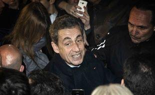 Nicolas Sarkozy, le 29 novembre 2014 à Paris.