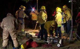 Les recherches ont mobilisé une centaine de pompiers.