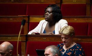La députée LREM Laetitia Avia à l'Assemblée Nationale.