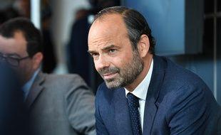 Le Premier ministre Edouard Philippe photographié  le 11 septembre 2017 à Niort.