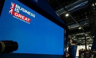 Le ministre des Finances George Osborne à l'ouverture du festival international des entreprises à Liverpool, le 13, 2016