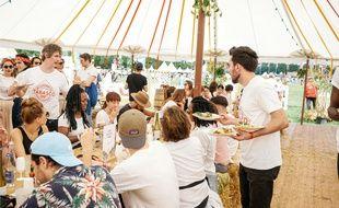 Le Food Corut du festival We Love Green en 2018