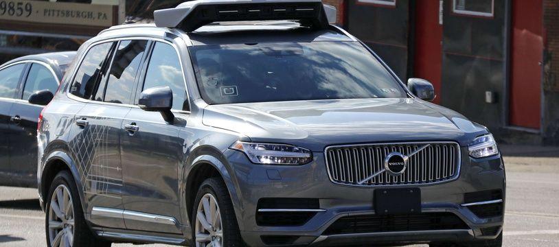 Un véhicule autonome Uber dans les rues de Pittsburgh en mars 2018 (Illustration).