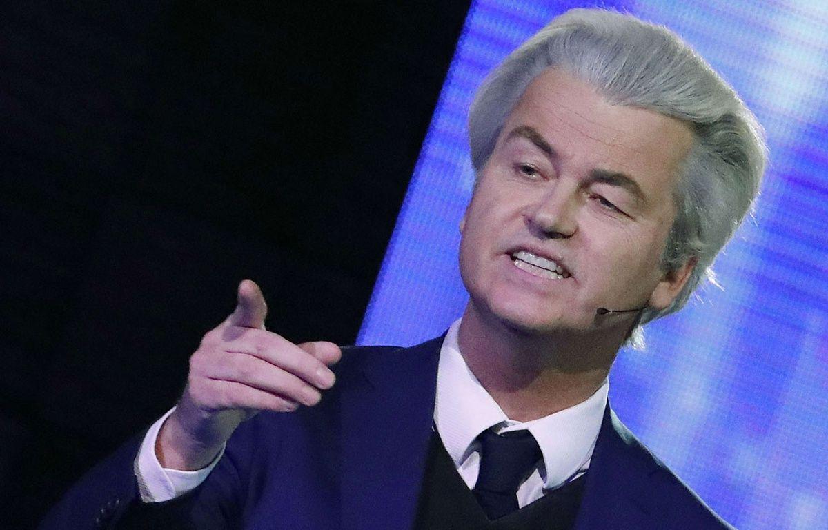 Le candidat de l'extrême droite néerlandaise, Geert Wilders. – Y.Herman/AP/SIPA