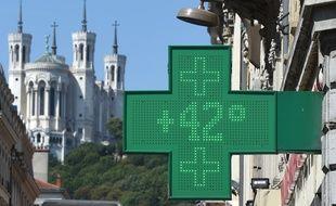 Le thermomètre a dépassé les 40 à Lyon ce vendredi