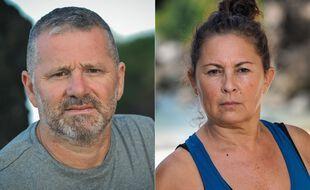François et Carole, tous les deux éliminés dans l'épisode 2 de « Koh-Lanta »