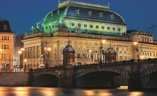 Le Théâtre national de Prague est l'un des plus beaux joyaux de cette ville d'art et de culture (photo d'illustration)