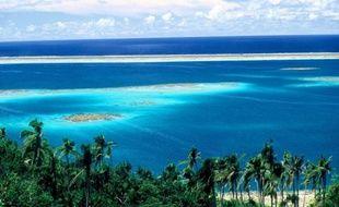 Ile de Wallis, de l'archipel Wallis et Futuna, dans le Pacifique sud.