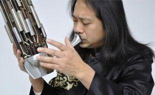 Brunch musical au Musée Dauphinois avec le musicien Wuang et son sheng.