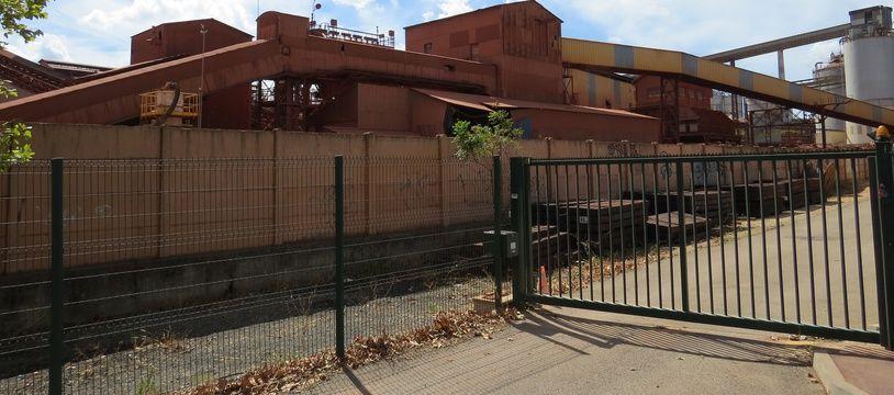 L'usine Alteo à Gardanne