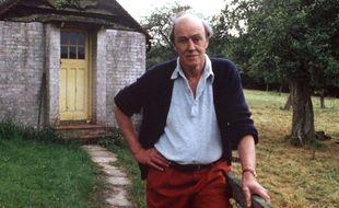 L'écrivain Roald Dahl en 1988.