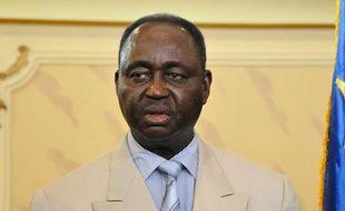 Le président centrafricain François Bozizé à Bangui, la capitale du Centrafrique, le 30 décembre 2012.