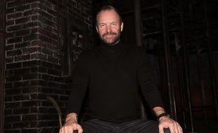 Sting, le 10 décembre 2014, à New York.