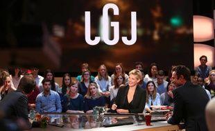 Le plateau du «Grand Journal» de Canal+.