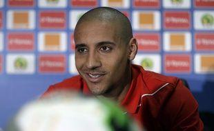 Wahbi Khazri ici en amont d'un match avec la Tunisie lors de la Coupe d'Afrique des Nations en 2017.