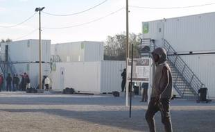 Le centre d'accueil provisoire de Calais, le 28 octobre 2016