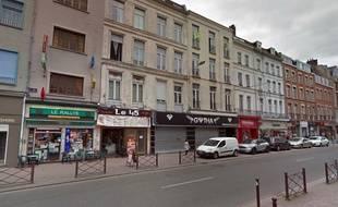 La rue Gambetta, à Lille.