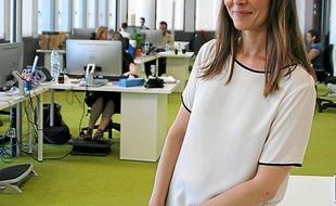 Gwenaëlle Quénaon-Hervé,  l'une des fondatrices du site.