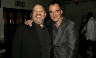 Harvey Weinstein et Quentin Tarantino en 2007.
