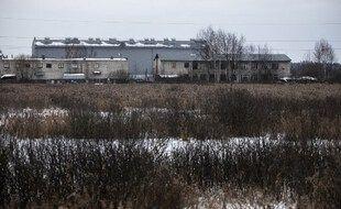 Photo prise le 1er mars 2021 de la colonie pénitentiaire n°2 dans la périphérie de la ville de Pokrov, à deux heures de route de Moscou, où l'opposant russe Alexeï Navalny est incarcéré.
