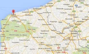 Google map de Calais