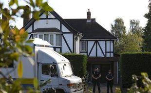 La maison des victimes de la tuerie de Chevaline, le 13 septembre 2012 à Claygate, dans le sud-est de l'Angleterre