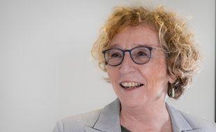 """Muriel Penicaud Ministre du Travail visite """"Formaposte"""" le centre de formation en alternance pour le Groupe La Poste le 14 novembre 2019."""