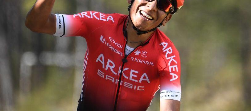 Nairo Quintana gagne la dernière étape de Paris-Nice