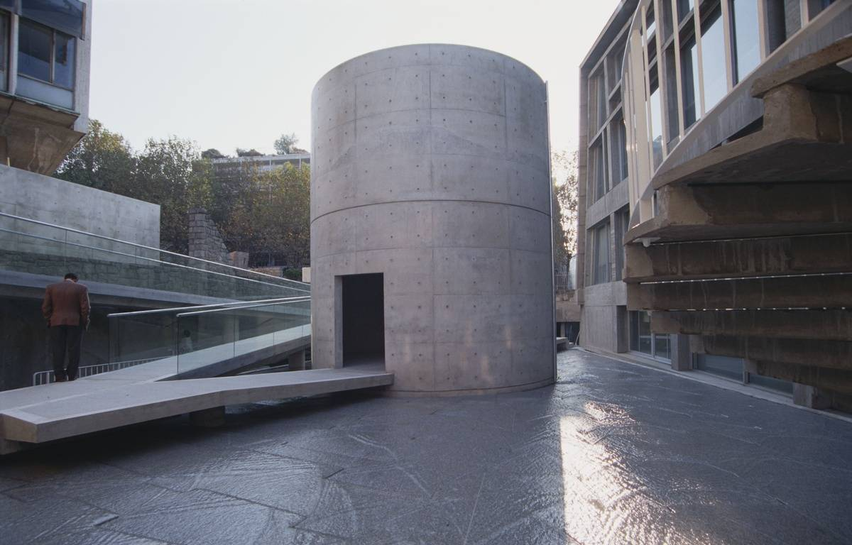 Espace de méditation à l'Unesco, à Paris (7e). – Tadao Ando Architect & Associates
