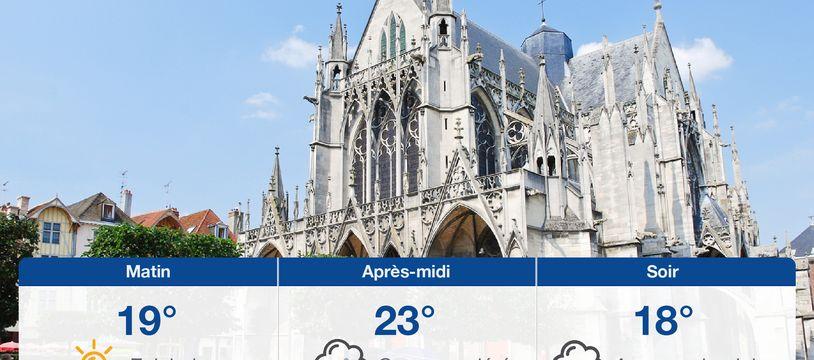 Météo Troyes: Prévisions du lundi 21 juin 2021