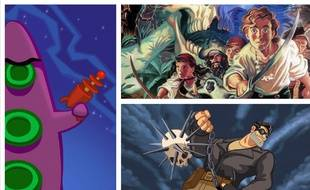 «Day of the tentacle», «Monkey Island», Full Throttle»... des jeux cultes du studio LucasArts