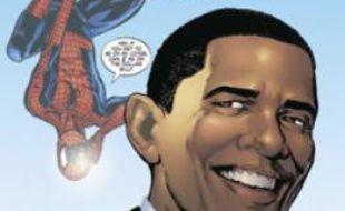 """Barack Obama en couverture d'une édition spéciale de la revue """"The Amazing Spider-Man"""""""