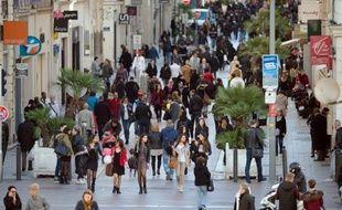 Illustration de la population française.