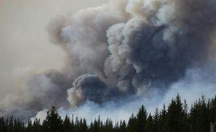 Feux de forêts à Fort McMurray, au Canada, le 7 mai 2016