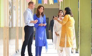 Le prince William et son épouse Kate à Islamabad