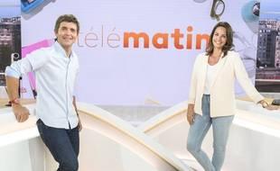 Julia Vignali et Thomas Sotto, nouveaux visages de « Télématin »
