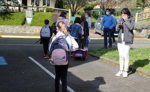 Les élèves des écoles primaires et maternelles vont retourner le 26 avril 2021 en classe.