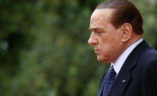 Le Premier ministre italien Silvio Berlusconi à la Villa Doria Pamphili, à Rome, le 3 juin 2011.