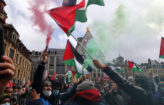 648x415 manifestation soutien peuple palestinien 15 mai 2021 lille
