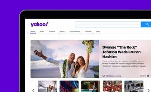 Yahoo change son logo
