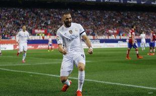 L'attaquant du Real Madrid Karim Benzema, le 4 octobre 2015.